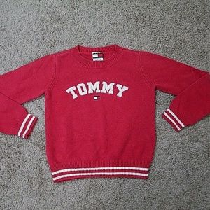 "Tommy Hilfiger Sweater Boy's Small ""Tommy"" Vintage"